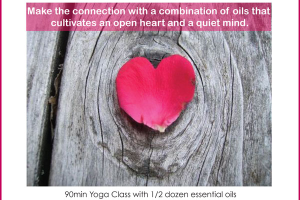 Connection ~ Yoga + Essential Oil Workshop