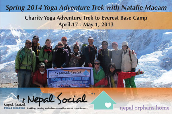 Everest Base Camp Yoga Trek | Nepal Apr 17 – May 1 '13